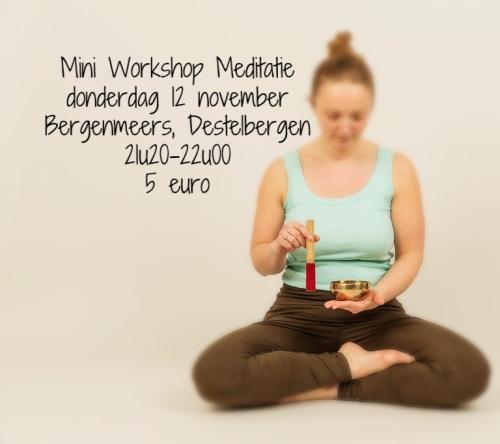 20151112 mini workshop meditatie